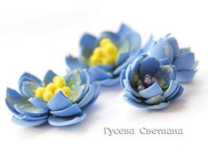 Делаем цветы из фоамирана по шаблону. Часть 2. Ярмарка Мастеров - ручная работа, handmade.