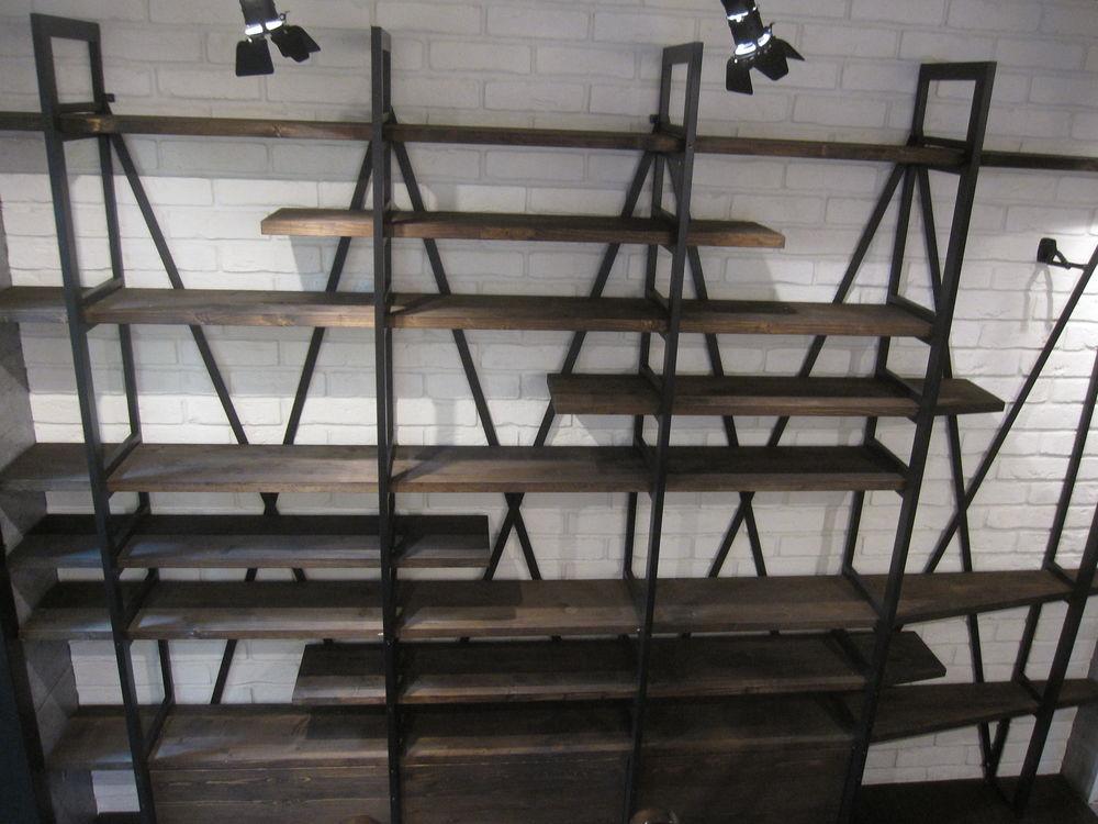 мебель лофт, дизайнерская мебель, стеллажи в стиле лофт, loft industrial, дизайн интерьера