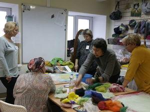 Фоторассказ о мастер-классе по шерстяной акварели, 10 ноября. Ярмарка Мастеров - ручная работа, handmade.