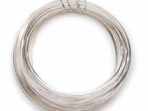 Серебряная проволока | Ярмарка Мастеров - ручная работа, handmade