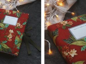 Конкурс коллекций от мастерской Twinkling Threads - дарим новогодний блокнот и сертификаты. Ярмарка Мастеров - ручная работа, handmade.