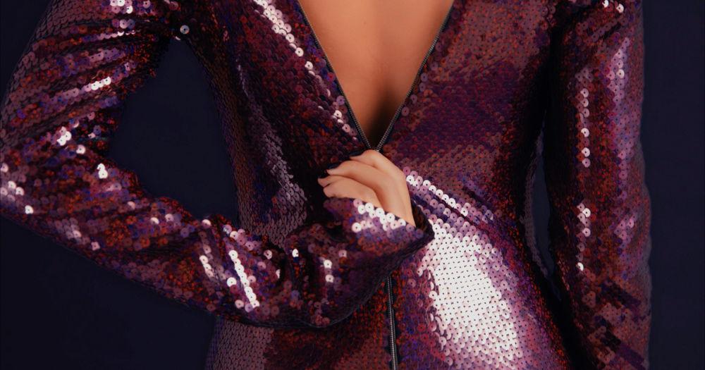 мода 2018, как носить пайетки