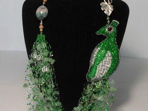 Оригинальные и необычные украшения из бисера, бусин и натуральных камней | Ярмарка Мастеров - ручная работа, handmade