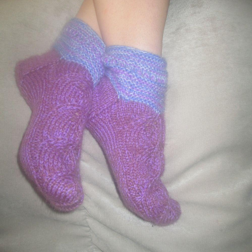 носки, носки вязаные