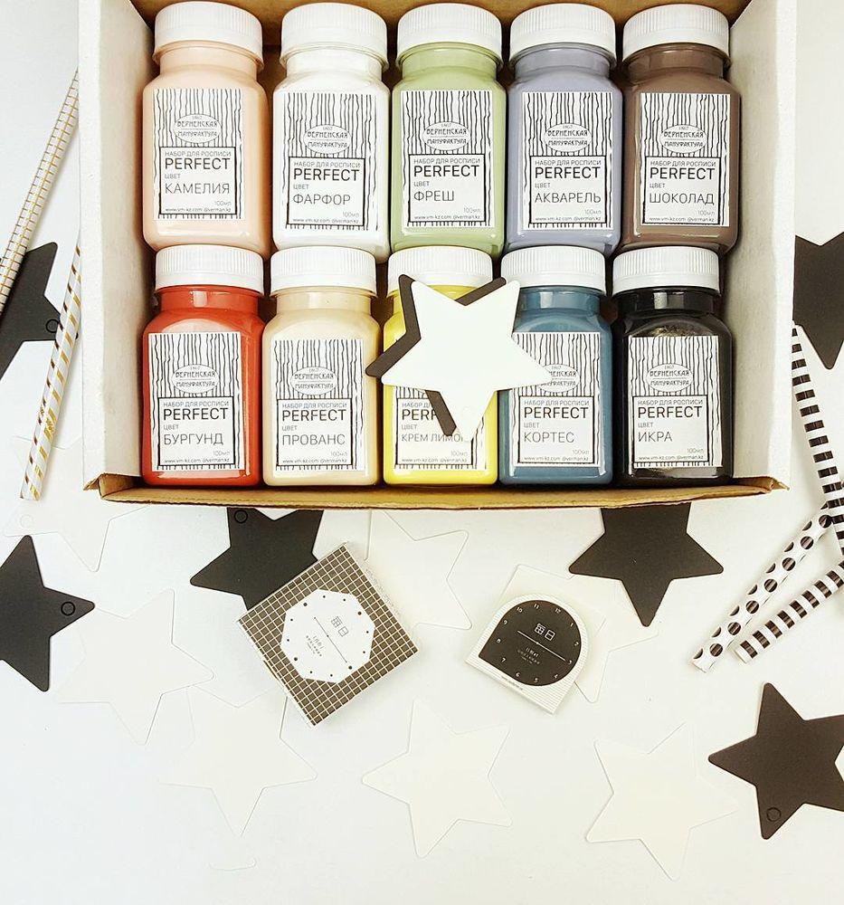 верненская мануфактура, безопасные краски, набор для росписи