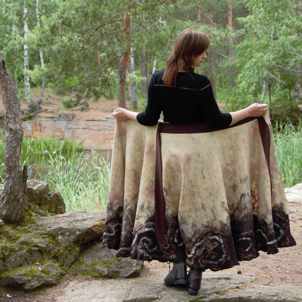 двухсторонняя юбка, юбка белого цвета