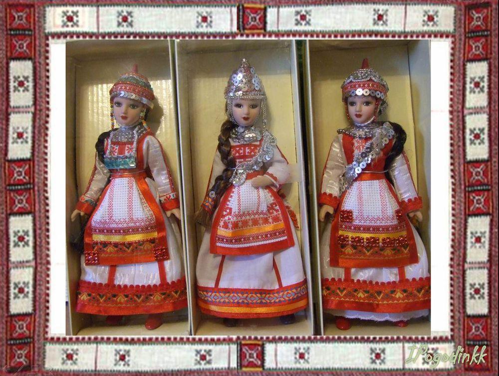 Чувашский народный костюм своими руками 53