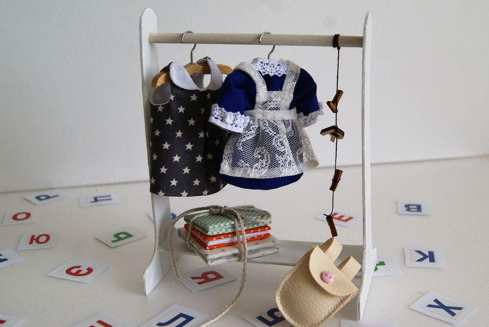 сюжетноигровой набор, одежда для мишки, сумка-дом, дом для игрушек