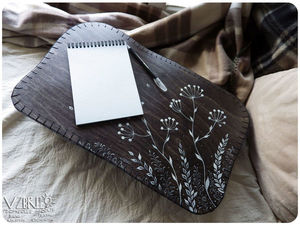 Травы, травы...Новый столик на подушке.. Ярмарка Мастеров - ручная работа, handmade.