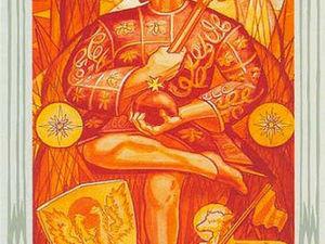 Психология мужчин в старших арканах таро Алистера Кроули. Император. | Ярмарка Мастеров - ручная работа, handmade
