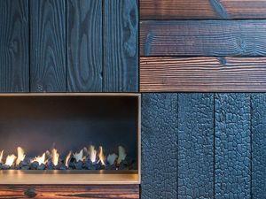 Примеры использования обугленного дерева в отделке. Ярмарка Мастеров - ручная работа, handmade.