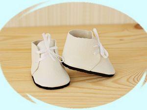 Делаем ботинки для куклы: видео мастер-класс. Ярмарка Мастеров - ручная работа, handmade.