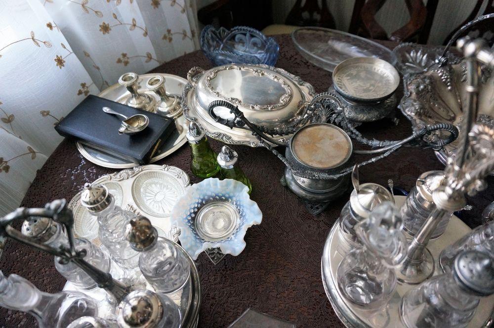 посеребренная посуда, уютный дом, новость магазина, викторианская эпоха