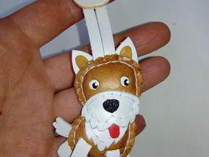 брелок мини собака. Ярмарка Мастеров - ручная работа, handmade.