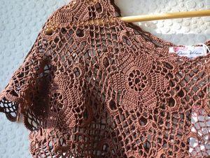 Шоколадное платье SALE -20%. Ярмарка Мастеров - ручная работа, handmade.