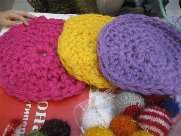 Finger Crochet (Вязание Пальцами): коврик | Ярмарка Мастеров - ручная работа, handmade