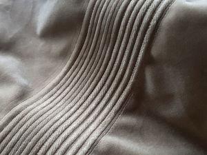 Шьём интересную фактуру с продергиванием нити | Ярмарка Мастеров - ручная работа, handmade