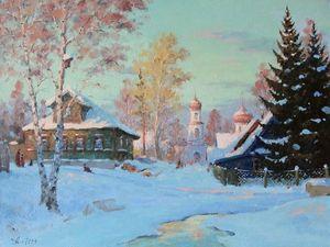 Музыка зимы в картинах Александра Александровского. Ярмарка Мастеров - ручная работа, handmade.