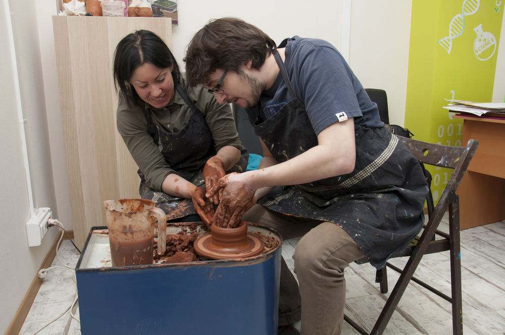керамика, гончар, кружка
