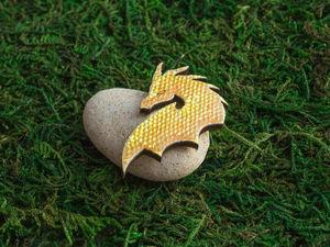 Новая брошь — Дракон Орлита!. Ярмарка Мастеров - ручная работа, handmade.