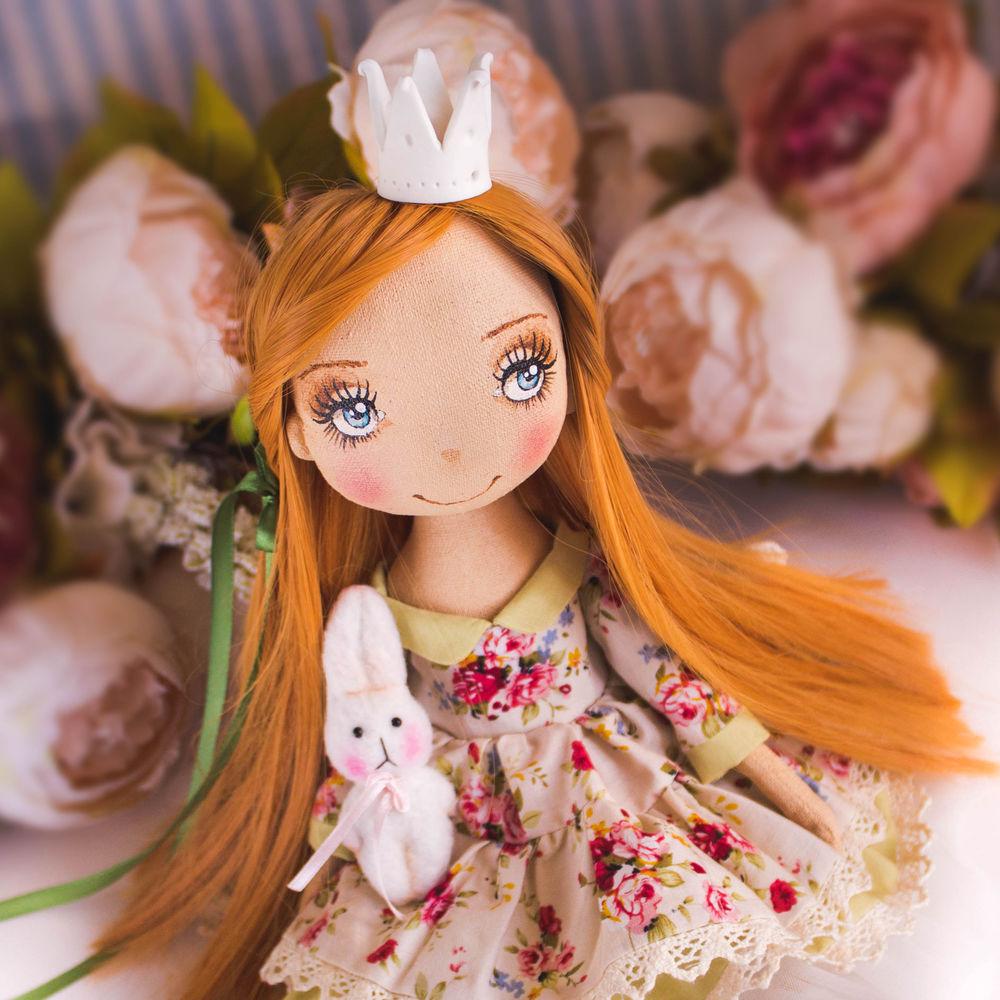 кукла рыжая принцесса, купить для интерьера