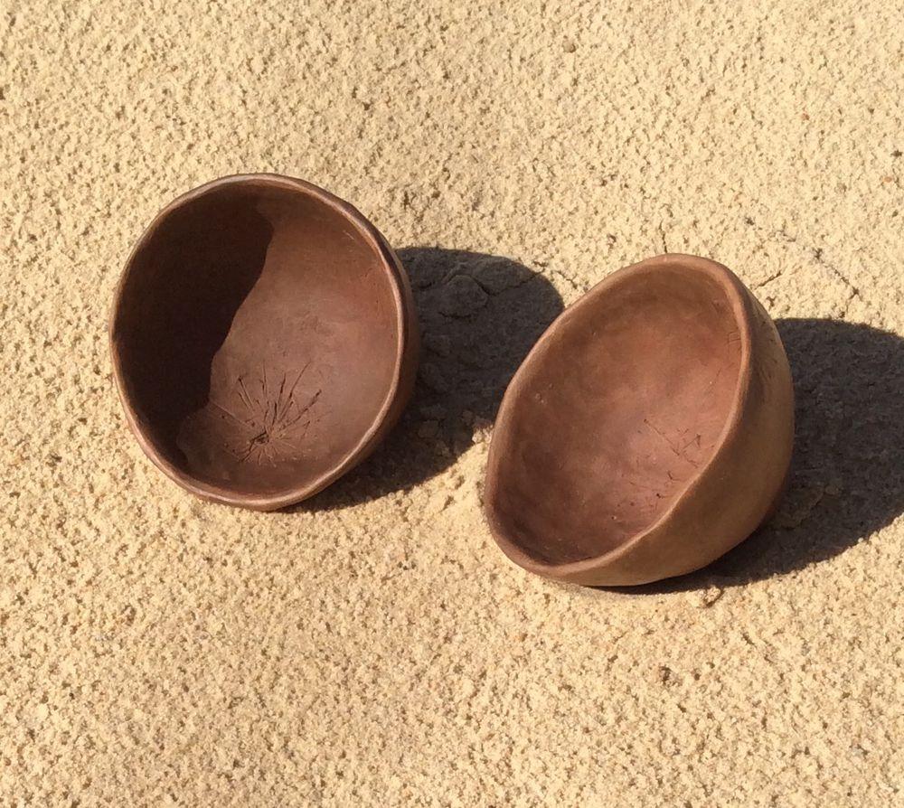 Две скорлупки времени.. Две чайные пиалы, фото № 11