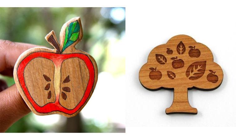 Как сделать знак яблоко