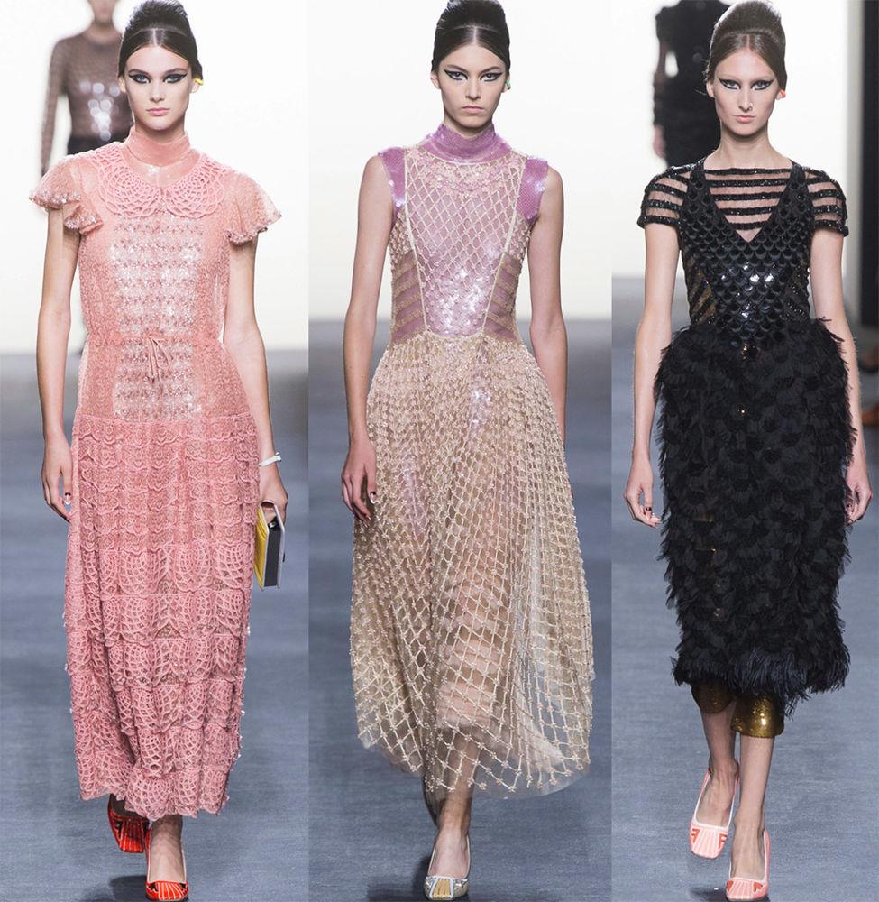 Розовый фламинго как источник вдохновения для дизайнеров одежды