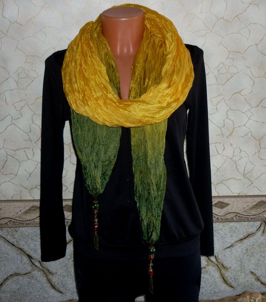 шёлковый шарф батик
