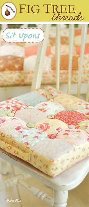 country chair cushions