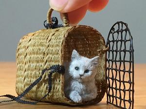 Ми-ми-ми миниатюра: очаровательные питомцы Tomoko Masakage. Ярмарка Мастеров - ручная работа, handmade.