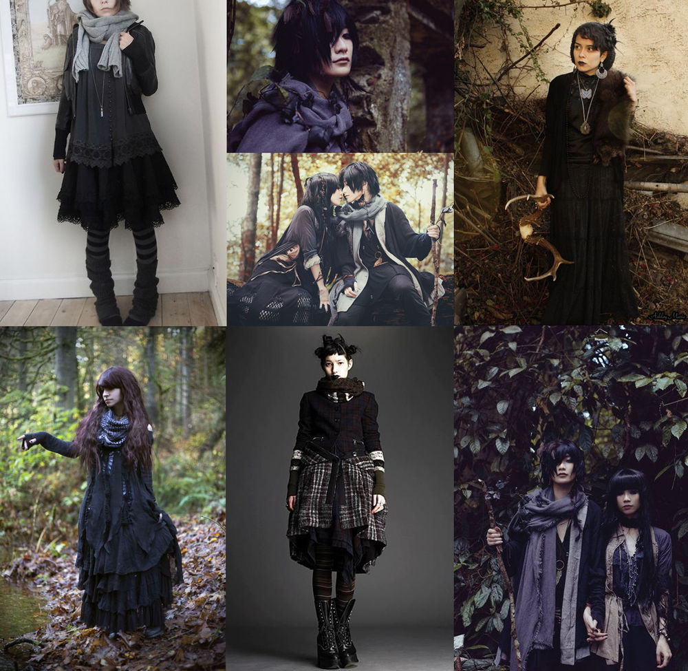 40 Best Dark Forest Mori images | Dark forest, Mori fashion