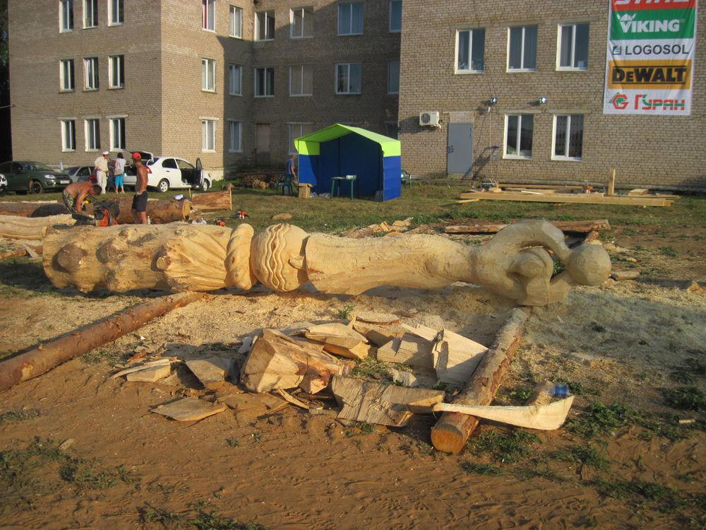 Об участии в международном фестивале деревянной скульптуры., фото № 12