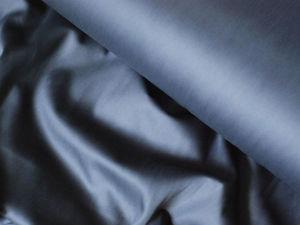 Сатин темно-серый (Асфальт). Ярмарка Мастеров - ручная работа, handmade.