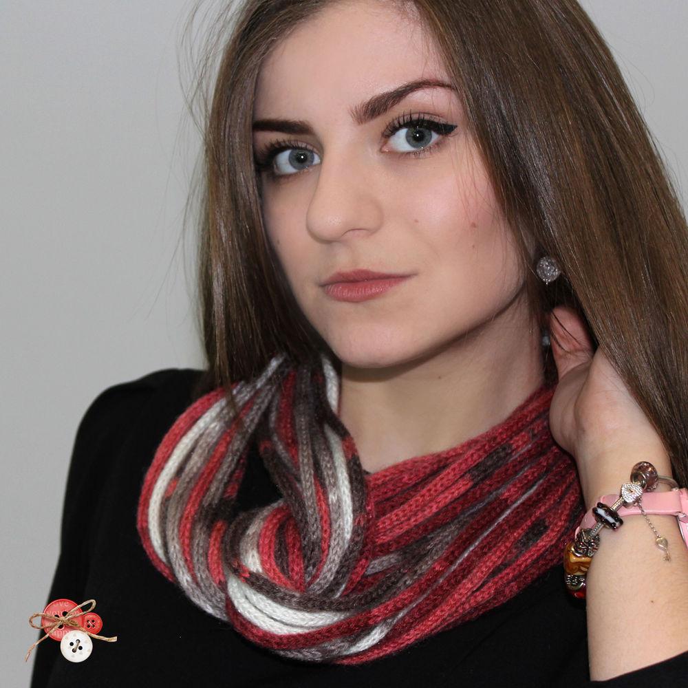 бусы-шарф