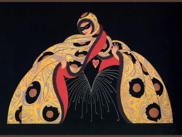 Он рисовал для Маты Хари: ЭРТЕ — гений Ар-деко | Ярмарка Мастеров - ручная работа, handmade