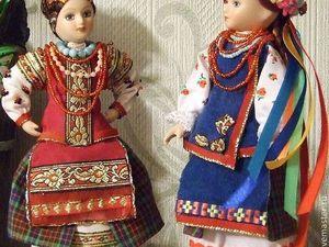 Украинки — мои куклы, особенности украинского народного костюма. Ярмарка Мастеров - ручная работа, handmade.