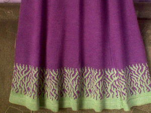 ПРОДАНА - Аукцион на юбку четырехклинку с принтом по подолу. Старт 1200 руб. Ярмарка Мастеров - ручная работа, handmade.