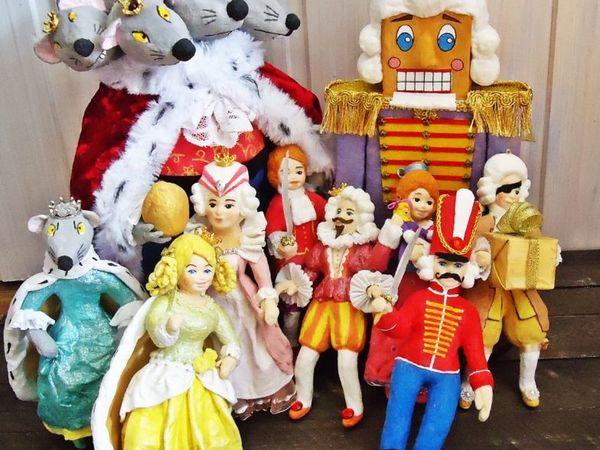 Все герои Щелкунчика | Ярмарка Мастеров - ручная работа, handmade