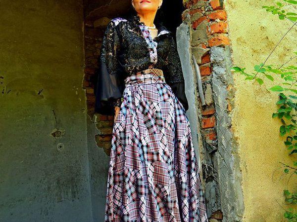 Еще одна новинка - макси платье из гипюра и вискозы | Ярмарка Мастеров - ручная работа, handmade
