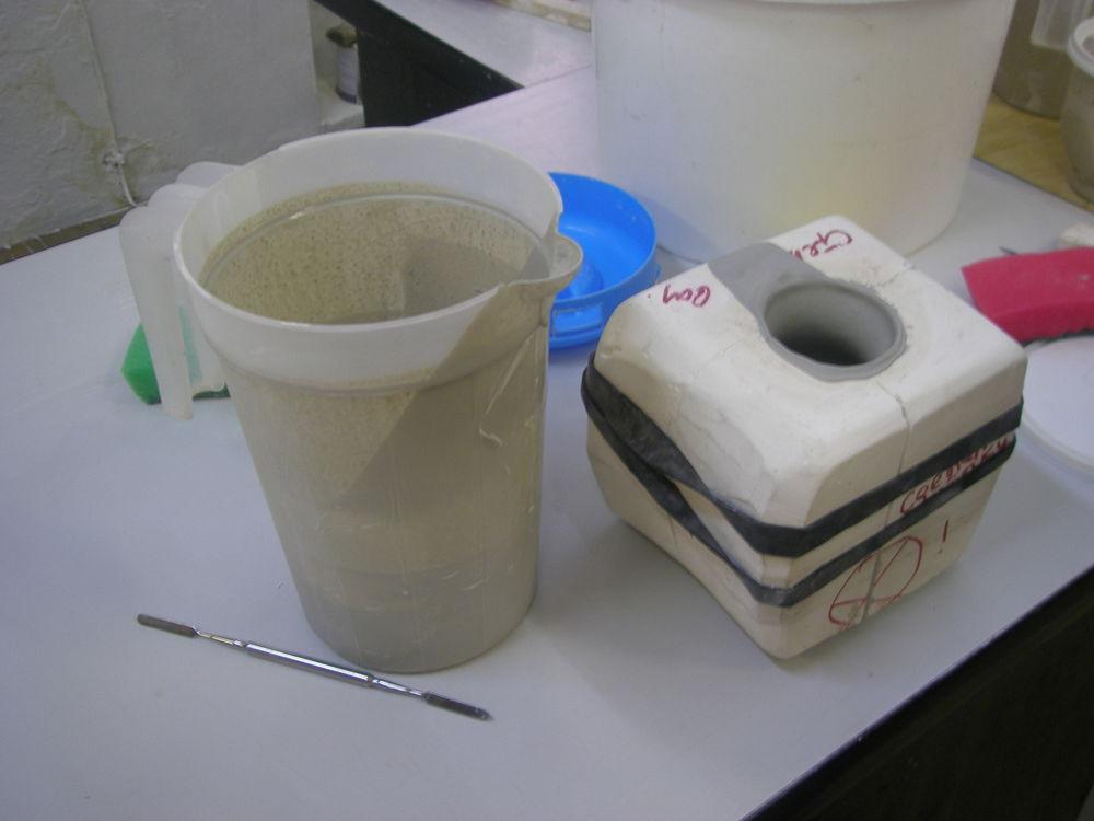 школа фарфора, искусство формовки, научиться лить
