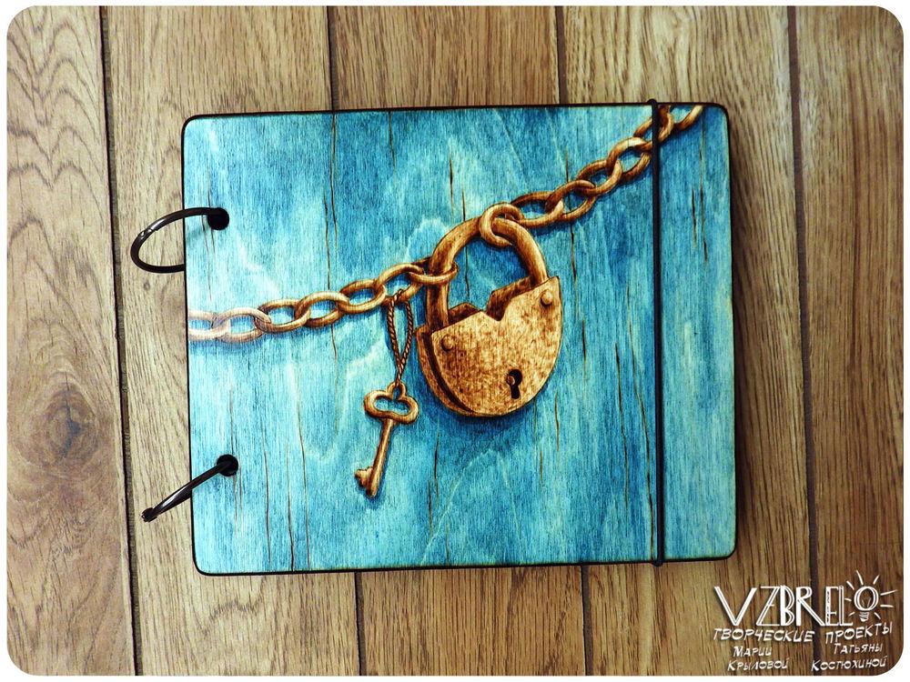 деревянные блокноты, блокноты из дерева, замок, блокноты, для художника