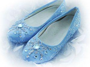 Мастерим туфельки на утренник. Простой и обратимый декор обуви. Видео мастер-класс | Ярмарка Мастеров - ручная работа, handmade