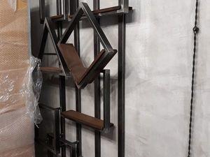 Стеллаж — полка в стиле лофт. Ярмарка Мастеров - ручная работа, handmade.