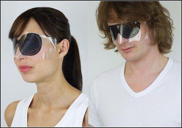 Больше, чем просто защита от солнца: очки-наклейки