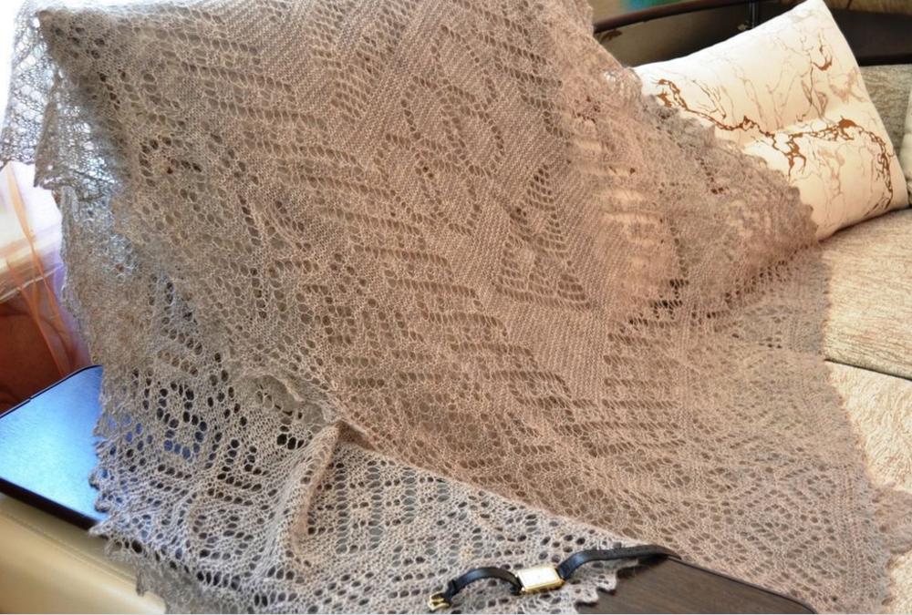 Как выбрать качественный и настоящий оренбургский пуховый платок, фото № 6