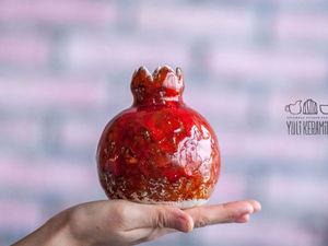 Мастер-класс по керамическим гранатам | Ярмарка Мастеров - ручная работа, handmade
