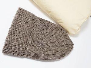 Шапка из пряжи Cool Wool Alpaca. Ярмарка Мастеров - ручная работа, handmade.