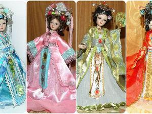 Китаянки — мои куклы, особенности китайского костюма. Ярмарка Мастеров - ручная работа, handmade.
