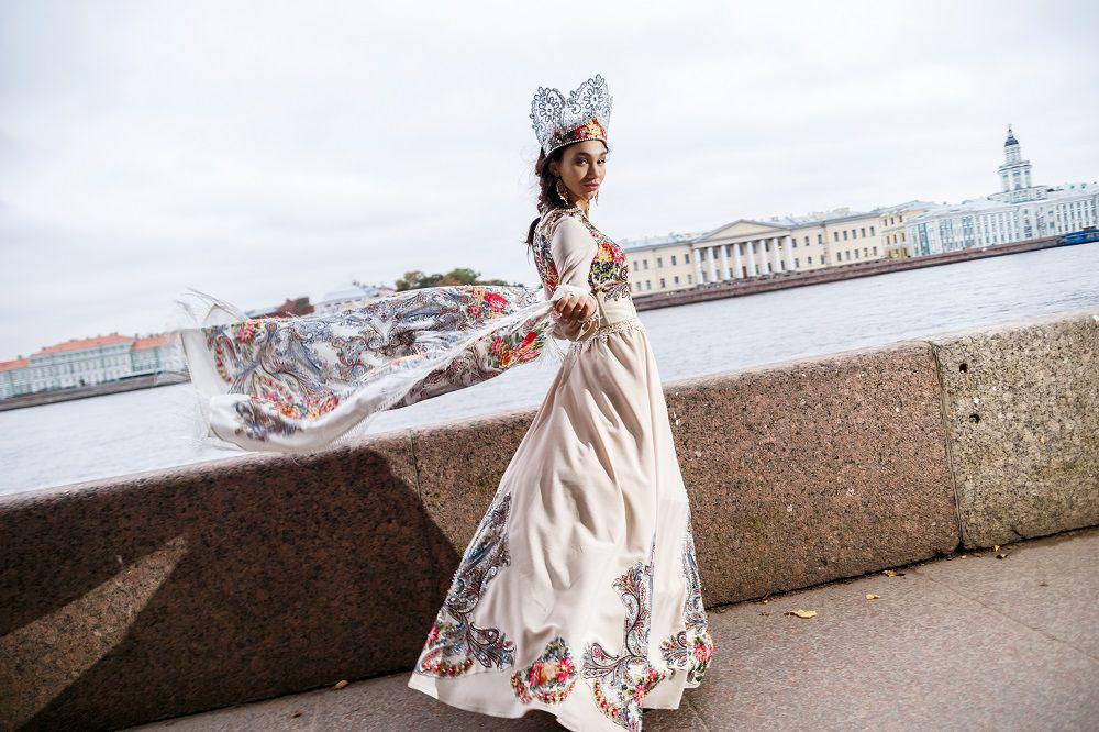 русский костюм, аренда платья